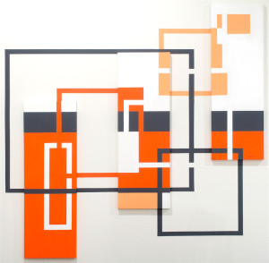 Abstract Geometric-Art 2012 Antar Spearmon Kettle One