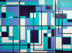 Abstract Geometric Art 2012 Antar Spearmon Maura