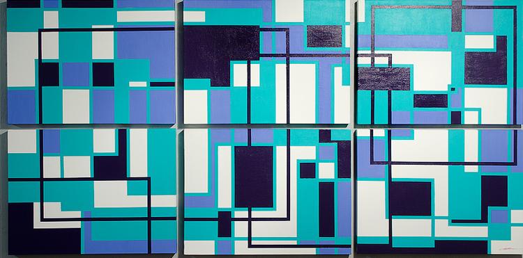 Abstract Geometric Art 2012 Antar Spearmon Maura